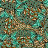 Fond abstrait des modèles géométriques Images stock