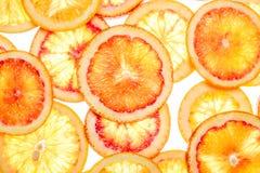 Fond abstrait des parts de citron photo libre de droits
