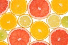 Fond abstrait des parts de citron Plan rapproché Brosse à dents Photos stock