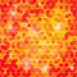 Fond abstrait des polygones triangulaires Photos libres de droits