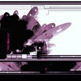 Fond abstrait des sciences fiction Images libres de droits