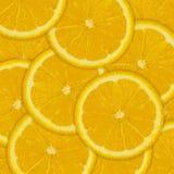 Fond abstrait des tranches oranges de fruit images stock