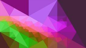 Fond abstrait des triangles Photo libre de droits
