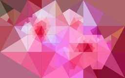 Fond abstrait des triangles Images stock