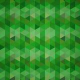 Fond abstrait des triangles Photos libres de droits