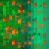 Fond abstrait des triangles Photo stock