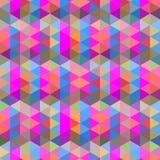 Fond abstrait des triangles Image libre de droits
