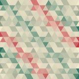 Fond abstrait des triangles Images libres de droits