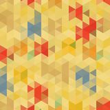 Fond abstrait des triangles Image stock