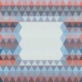 Fond abstrait des triangles Photographie stock