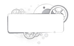 Fond abstrait des vitesses monochromes Image stock