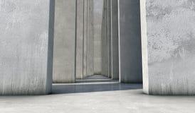 Fond abstrait du béton Image stock