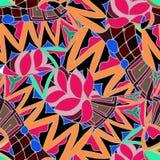 Fond abstrait du dessin géométrique de modèles Photo libre de droits
