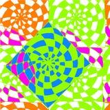 Fond abstrait du dessin géométrique de modèles Images stock