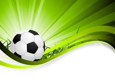 Fond abstrait du football Photo stock