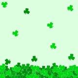 Fond abstrait du jour de St Patrick Photo stock