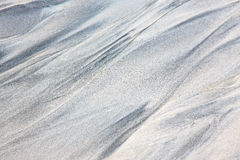 Fond abstrait du sable blanc Photos libres de droits