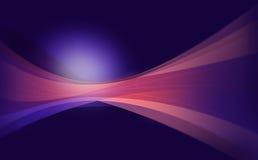 Fond abstrait dynamique avec flotter la forme organique et onduleuse Images stock