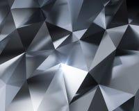 Fond abstrait en métal Images libres de droits