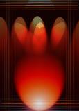 Fond abstrait en rouge et le noir Photographie stock