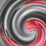 Fond abstrait en spirale Photographie stock libre de droits