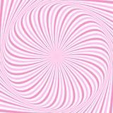 Fond abstrait en spirale des rayons tournants Photo libre de droits