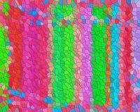 Fond abstrait espiègle de cire d'abeille colorée, modèle illustration de vecteur