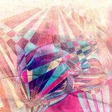 Fond abstrait f d'aquarelle de couleur Image libre de droits