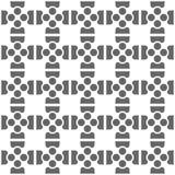 Fond abstrait fait à partir des formes géométriques Image stock