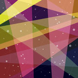 Fond abstrait fait de triangles Photographie stock libre de droits