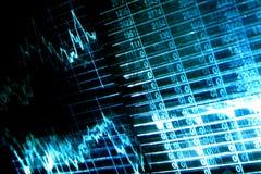Fond abstrait financier Photographie stock libre de droits