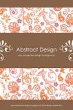 Fond abstrait floral 1-5 Photos libres de droits