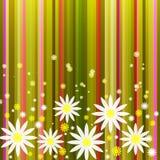 Fond abstrait floral Illustration de Vecteur