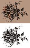 Fond abstrait floral vektor abbildung