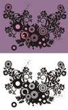Fond abstrait floral lizenzfreie abbildung