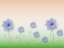 Fond abstrait floral. Illustration de Vecteur