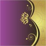 Fond abstrait floral Image libre de droits