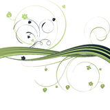 fond abstrait floral illustration stock