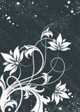Fond abstrait floral. illustration libre de droits