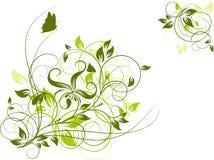Fond abstrait floral, vecteur illustration libre de droits