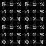 Fond abstrait foncé avec les cercles légers Modèle sans couture de technologie géométrique de mosaïque Blanc noir de contexte Image libre de droits
