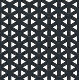 Fond abstrait foncé de vecteur avec une grille en métal Illustration Stock