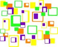 Fond abstrait géométrique coloré Photo stock