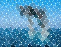 Fond abstrait géométrique moderne Papier peint lumineux Texture géométrique Configuration colorée Concept créateur Vecteur illustration libre de droits