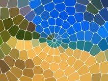 Fond abstrait géométrique moderne Papier peint lumineux Texture géométrique Configuration colorée Concept créateur Vecteur illustration de vecteur