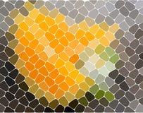 Fond abstrait géométrique moderne Papier peint lumineux Texture géométrique Configuration colorée Concept créateur Vecteur illustration stock