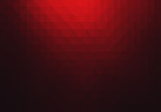 Fond abstrait géométrique rouge Photographie stock libre de droits
