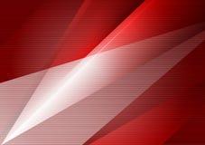 Fond abstrait géométrique rouge de vecteur avec l'espace de copie, conception moderne Photos libres de droits