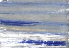 Fond abstrait gris espagnol d'aquarelle Photographie stock libre de droits