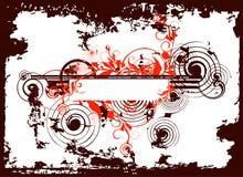 Fond abstrait grunge - r Image libre de droits